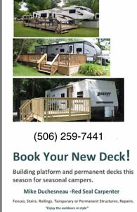 Deck for your camper!