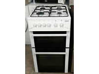 l319 white beko 50cm gas cooker comes with warranty can be delivered or collected