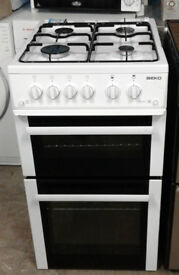 I319 white cannon 50cm gas cooker comes with warranty can be delivered or collected
