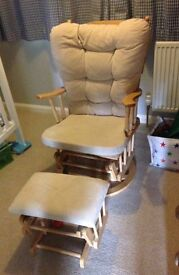 Baby weavers nursing chair
