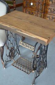 Singer Rustic table