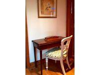 George III Country Oak Antique Gateleg Games Table
