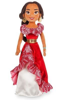 Nwt Disney Store Princess Elena Of Avalor Plush Doll Medium 20  H New
