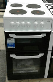 a777 white beko 50cm solid ring electric cooker new with manufacturers warranty can be delivered