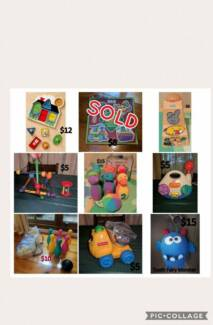 Great Condition Puzzles & Toys (SOME BRAND NEW) - ages 6 mths +