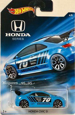Hot Wheels 2018 Honda 70th Anniversary HONDA CIVIC SI #4/8 (BLUE )