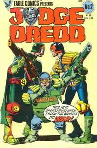 JUDGE DREDD  2. The 1983 EAGLE COLOUR SERIES. WAGNER, BOLLAND,McMAHON etc.2000AD