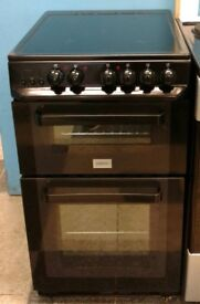a737 black zanussi 50cm electric cooker comes with warranty can be delivered or collected