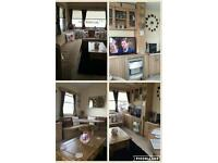 8 berth static caravan for holiday rent