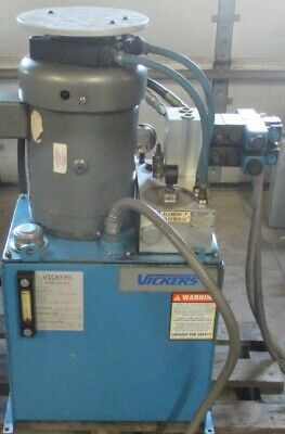 Vickers Power Systems Hydraulic Pump 7.5 Hp 30 Gal