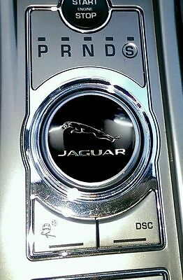 Leaper Badge For Jaguar XF XE XJ or XK Rotary Gear Selector Knob