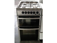 b588 silver beko 50cm gas cooker comes with warranty can be delivered or collected