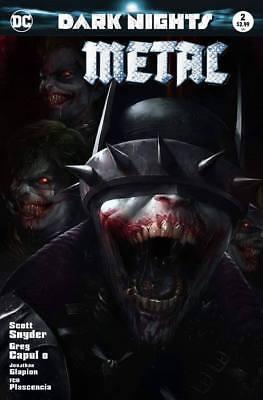 Dark Nights Metal 2 DC 2018 Francesco Mattina Variant Batman Who Laughs Joker 1