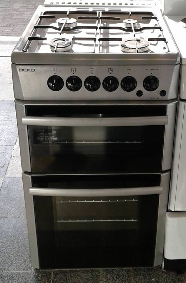 H588 silver beko 50cm gas cooker comes with warranty can be delivered or collected