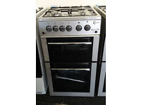 *72 silver flavel 50cm gas cooker GRADED comes with warranty can be delivered or collected