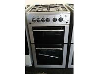 c72 silver flavel 50cm gas cooker GRADED with 12 months warranty can be delivered or collected