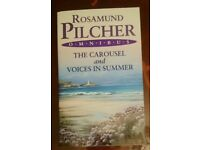 New book Rosamund Pilcher The Carousel & Voices in Summer New Take a l@@K