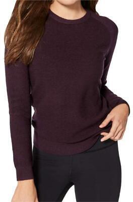 ⛵️ LULULEMON Black Cherry Simply Merino Wool Crew Neck Long Sleeve Sweater 4