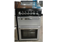 C282 silver flavel 50cm gas cooker comes with warranty can be delivered or collected