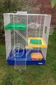 Townhouse Hamster Cage and Accessories