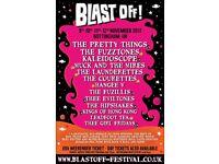 Blast Off Festival 2017 ( 60's freakbeat/Rhythm and Blues/Acid Folk/Garage Rock)