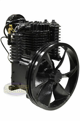 5 Hp Horsepower Cast Iron 2 Stage Air Compressor Pump Industrial Two-stage Ci5