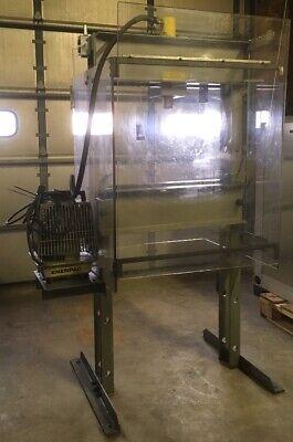 Enerpac 25 Ton H Frame Hydraulic Press With Enterpac Pump Per-2031
