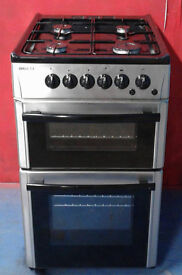 I478 stainless steel beko 50cm gas cooker comes with warranty can be delivered or collected