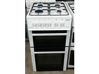 C318 white beko 50cm gas cooker comes with warranty can be delivered or collected