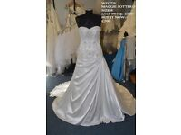 Beautiful Ex Sample Maggie Sottero Wedding Dress in size 8