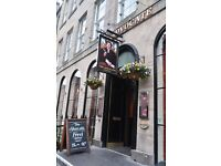 CHEFS AND KITCHEN TEAM MEMBERS REQUIRED FOR BUSY CITY CENTRE BAR AND RESTAURANT