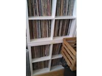 large vinyl record collection house dance rave old skool disco funk soul rock pop reggae