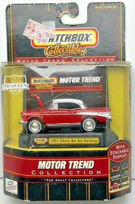 1957 Chevy Bel Air Hardtop Matchbox Collectibles Motor Trend Collection