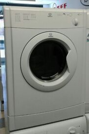 g038 white indesit 6kg vented dryer comes with warranty can be delivered or collected