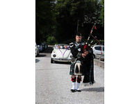 Professional Pipers – all areas covered – lowest prices around
