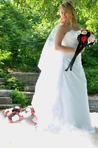 Bella rosa wedding dress