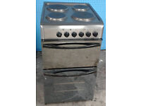 t196 mirror finish indesit 50cm solid ring electric cooker comes with warranty can be delivered