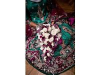 Beautiful wedding Lehenga/bridal dress.