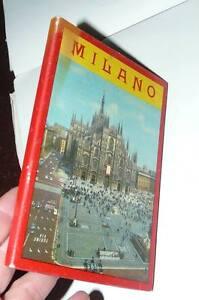 libretto-CARTOLINE-e-MAPPA-citta-039-di-MILANO-anni-50-guida-turistica-originale