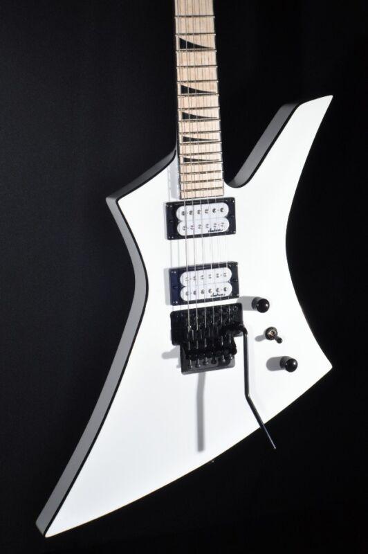 Jackson Kexm Kelly Guitar Snow White Mint