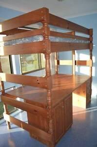 Bunk Bed (Desk/Bed combo) Holland Park West Brisbane South West Preview