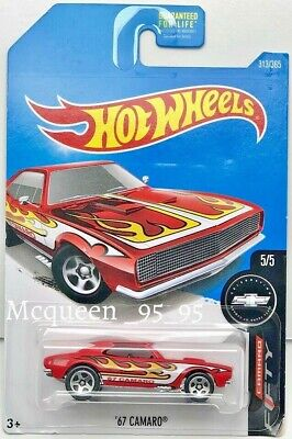 HOT WHEELS 2017 FIFTY YEARS '67 CAMARO RED
