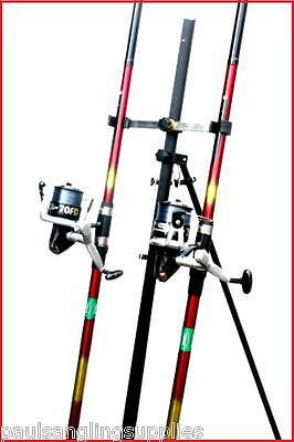 2 X 16 Ft Mitchell Rods & Max Ln 70 Reels & Tripod Beachcaster Sea Fishing