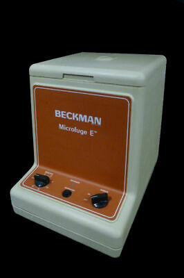 Beckman Instruments Microfuge E Centrifuge 329210 Microe W Rotor 1-97