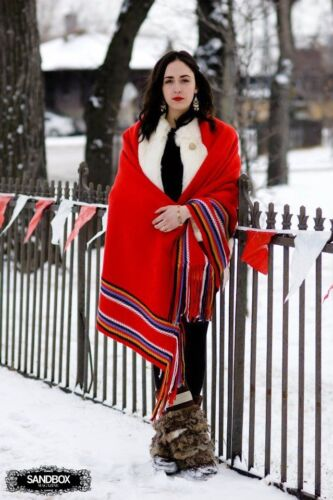 Blanket Shawl Couverte Châle L