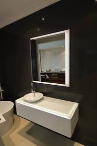 Custom 1200 LED vanity with matching mirror - EX DISPLAY Gwelup Stirling Area Preview