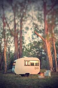 Handmade Vintage Bondwood (Woody) Caravan Lobethal Adelaide Hills Preview
