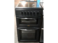 Z691 black belling 50cm gas cooker comes with warranty can be delivered or collected