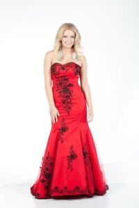 Beautiful red evening /prom dress for sale