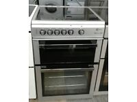 a192 silver flavel 60cm electric cooker comes with warranty can be delivered or collected